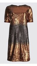 M&S Colour Block Sequin Tunic Dress size 12/14 b.n.w.t