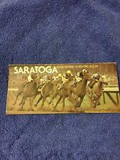 1975 TRAVERS PROGRAM WAJIMA + MAIDEN RACE MAJESTIC LIGHT DANCE SPELL SARATOGA