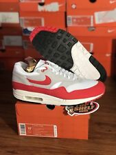 Ds New Nike Air Max 1 Classic Og Red Size 10.5 Rare Retro Authentic Classic Nice