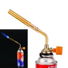 NEW CAMPING WELDING GAS BRASS TORCH BLOWTORCH FLAME GUN FIT CHEAP BUTANE CAN LG