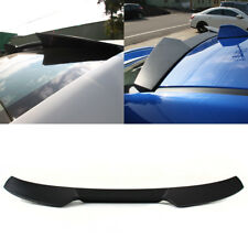 Unpainted For WRX STI 4th 4D Sedan V Style Rear Roof Spoiler Wing 15-18 ABS