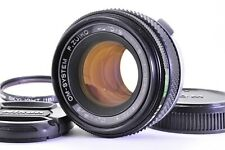 【Exce+++++】 OLYMPUS F.Zuiko Auto-S 50mm f/1.8 Prime MF SLR Lens  From JAPAN A260