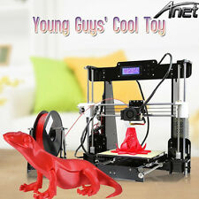 Anet A8 Prusa I3 3D Printer DIY KIT 220*220*240mm 1.75mm ABS/PLA/HIPS/WOOD USA