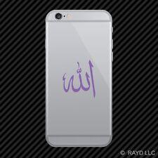 (2x) Arabic Symbol Allah Cell Phone Sticker Mobile God islam muslim many colors