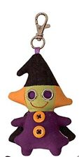 """Halloween Witch Backpack Clip 4"""" by Gund"""