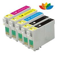 Paquet de 5 cartouches d'encre multi compatibles EPSON fox T1285 pour