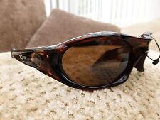 New Mens Quality Brown Tortoise Shell X Loop Designer Fashion Sunglasses