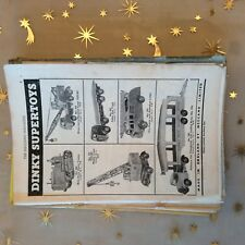 g1k ephemera vintage advert dinky supertoys no 955 fir eengine no 902 foden cole
