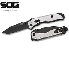 SOG Flashback Tanto Assisted Opening Knife Black TiNi SAT004 NEW