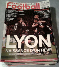 LOT 34 divers magazines FRANCE FOOTBALL 2003 2004 2005 2006