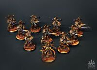 Thousand Sons Rubric Marines (10 man unit) COMMISSION painting WARHAMMER 40k