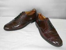 Men's Cole Haan Burgundy Dress Leather Fashion Oxfords Size 12 D