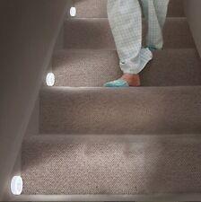3x 6LED Motion Sensor Lights PIR Wireless Night Light Battery Cabinet Stair Lamp