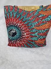 Handmade African Ankara Rhinstone BAG Gift Tote Bag Hand Bag Women Fashion Purse