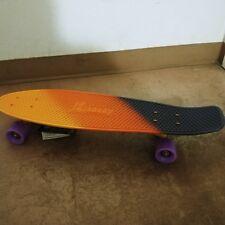 Penny Board 27 Nickel Plastic Mini Cruiser Skateboard Travel Commute - Dusk Fade