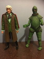 2 x DOCTOR WHO FIGURES:- 3rd DOCTOR & An ICE WARRIOR! - Classic Series!