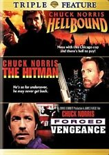 Hellbound Hitman Forced Vengeance DVD R4 Aus Compat Chuck Norris RARE The