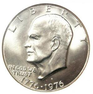 1976-D Eisenhower Ike Dollar $1 Type 1 - NGC MS67 - $3,400 Value - Top Pop 3/0!