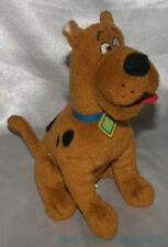 "Retired 2008 Ty Beanie Babies Plush 8"" Classic Scooby Doo Dog w/Collar Sewn Eyes"