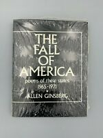 The Fall of America Poems Of These States 1965-1971 by Allen Ginsberg In Shrink!