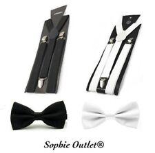 Cravates, nœuds papillon et foulards noirs en satin pour homme