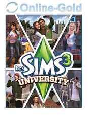 Les Sims 3 - University (pack d'extension) Clé - EA Origin Carte - PC Jeu - FR