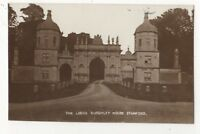 The Lodge Burghley House Stamford Lincolnshire 1905/10 RP Postcard 912b