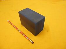 BLUE POLYURETHANE BAR plastic sheet flat stock 1 7/8