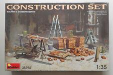 1:35 Construction Set Equipment Tools  MiniArt Model Kit Diorama 35594