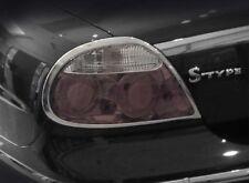 Jaguar S-Type Taillight Chrome Trims 2005 2006 2007 2008 Tail Light trims only