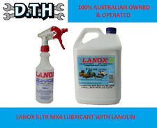 Inox Lanox MX4 Lanolin Lubricant Spray 5L and Free Applicator