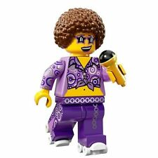 LEGO Minifigures Series 13 Disco Diva in rave / dance costume + afro wig, mike