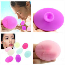 2X Soft Silicone Wash Pad Face Exfoliating Blackhead Facial Cleansing Brush Tool
