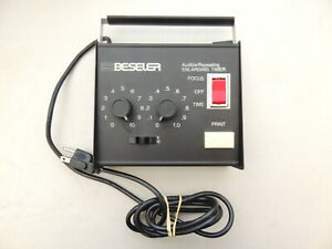 Beseler 8177 Audible/Repeating Enlarging Darkroom Timer TESTED