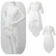 Lace 3/4 Sleeve Girls' Tutu Dress