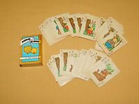 VINTAGE ANIMAL RUMMY  BY RUSSELL BIG LITTLE CARD GAME VOL. V  MINI PLAYING CARDS