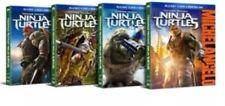 TEENAGE MUTANT NINJA TURTLE TMNT Blu-Ray DVD DC + 4 Target Exclusive SlipCovers.