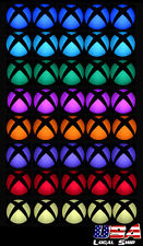 Custom Power Button Cover Stickers Skin LED Color Change for Xbox One Console