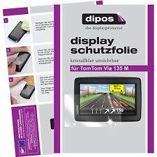2x TomTom Via 135 M Schutzfolie klar Displayschutzfolie Folie dipos Displayfolie
