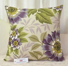 """CUSHION COVER 20""""x20"""" 51cm sq iLiv Floris Jewel Purple Cotton Blend"""