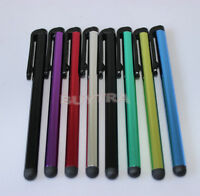 2PCS rhinestone capacitive touch microfiber stylus pen touch for pad phone TEUS