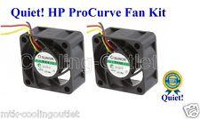 2x Quiet Version Sunon fans for HP ProCurve 2510G-24 (J9279A)