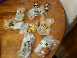 Burger King The Lion King Kids Toys Lot of 9, 7 still in package. Two out of pkg