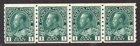 #125 - Canada - 1912 - 1 Cent Coils -  MNH  -  F/VF  - superfleas - cv$250+