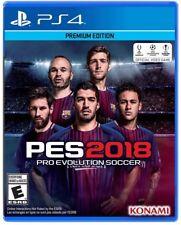 Pro Evolution Soccer PES 2018 Standard Edition (Sony PlayStation 4, 2017)