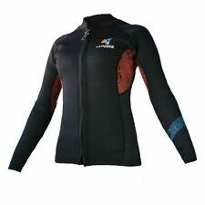New listing Layatone Wetsuit Women 3mm Neoprene Diving Suit Jacket Long Sleeves Front Zipper