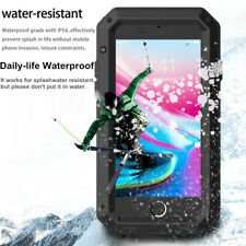 For iPhone 11, 11 Pro & Max Case - Waterproof Metal Shockproof Heavy duty Cover