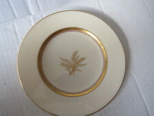 """Lenox WESTFIELD China Wheat 6.25"""" PLATE Gold on Ivory R-440 Made in USA VGUC"""