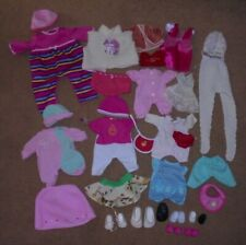 VINTAGE & MODERN DOLLS CLOTHING & SHOES BUNDLE