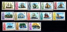 NORFOLK ISLANDS - 1967 - Navi dal 18° al 20° secolo